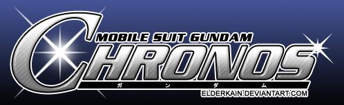 MS Gundam Chronos Fanfic Logo by ElderKain