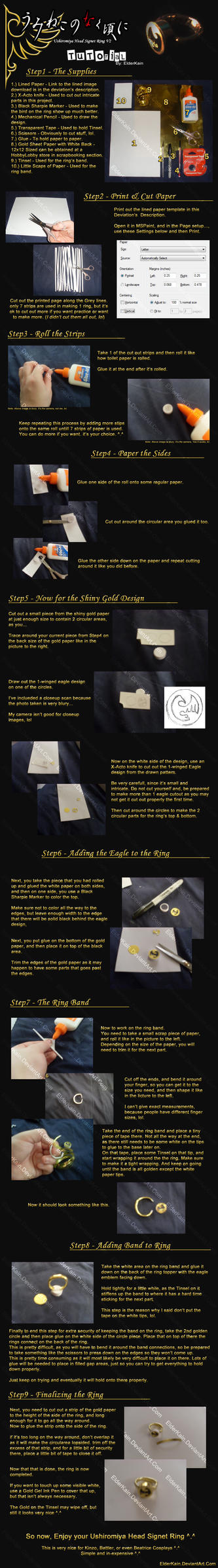 Tutorial - Ushiromiya Head Signet Ring V2 by ElderKain
