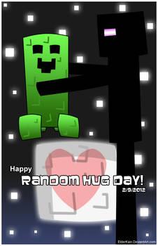Random Hug Day - Minecraft Edition