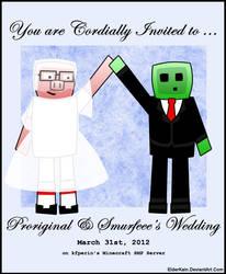 Minecraft - Proriginal and Smurfeee Invitation