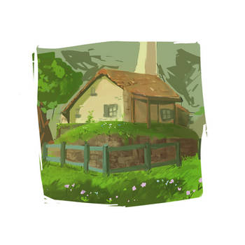 Hateno house by Sindrandi