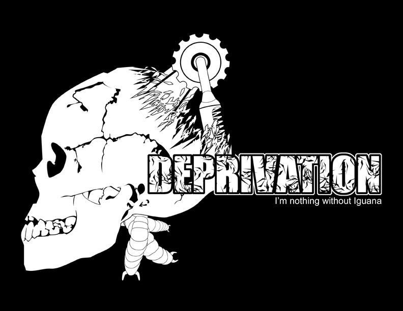 Deprivation T-shirt 01 by supaspoida