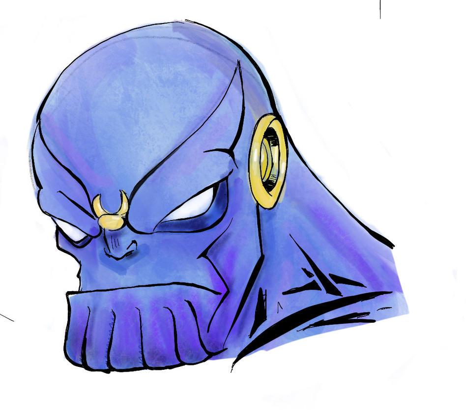 Thanos by mcd91
