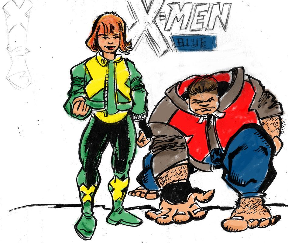 X-Men Blue by mcd91