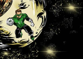 Green Lantern by mcd91