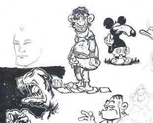 Doodles by mcd91