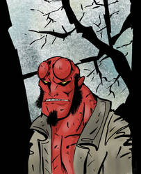 Hellboy by mcd91