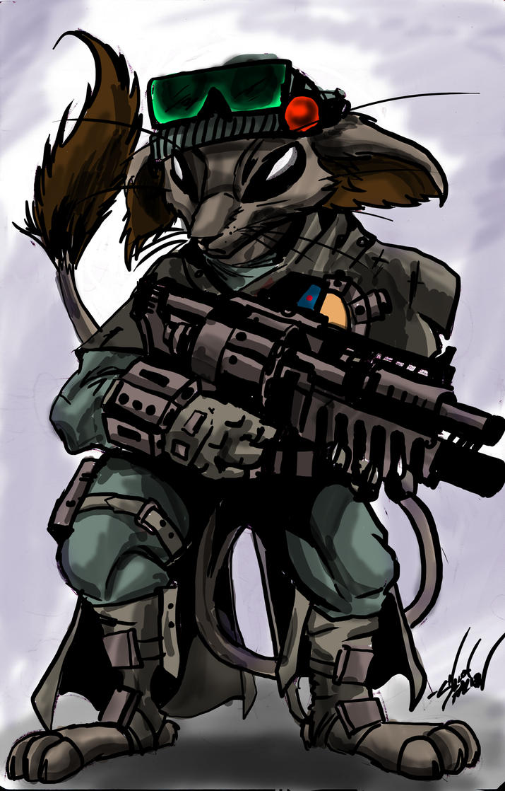 scavenger rat by spaceweasel2306