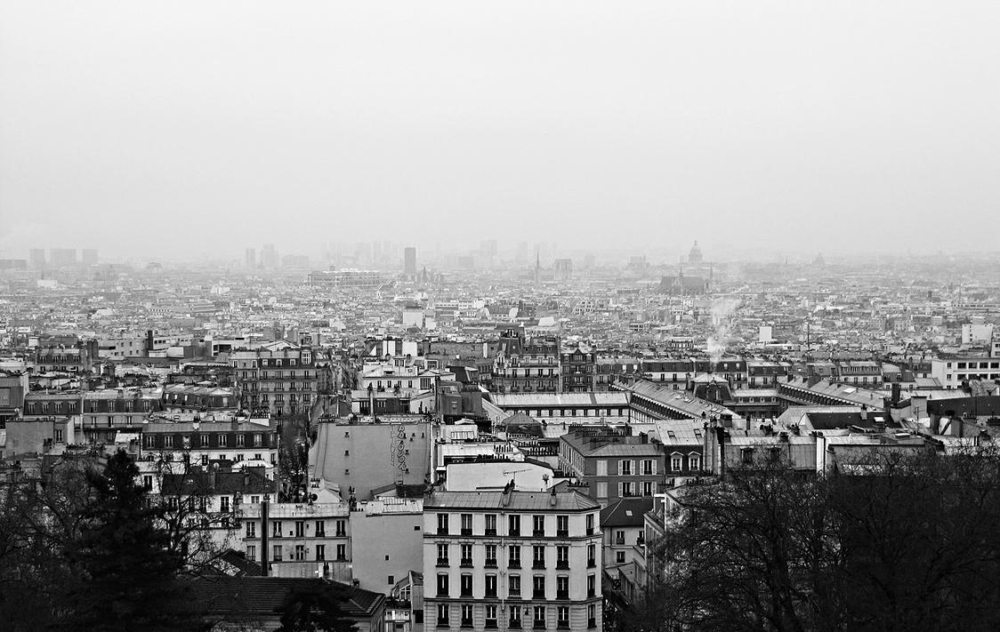 Paris skyline by jackthelateriser