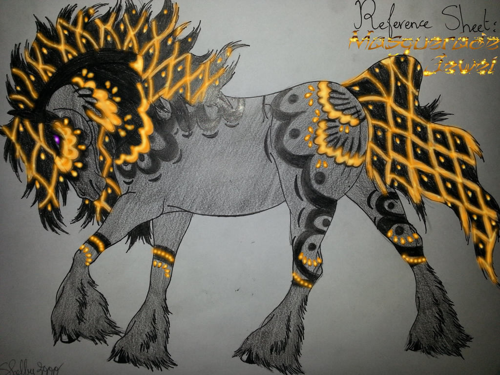 OC Masquerade Jewel by Shelby-3000