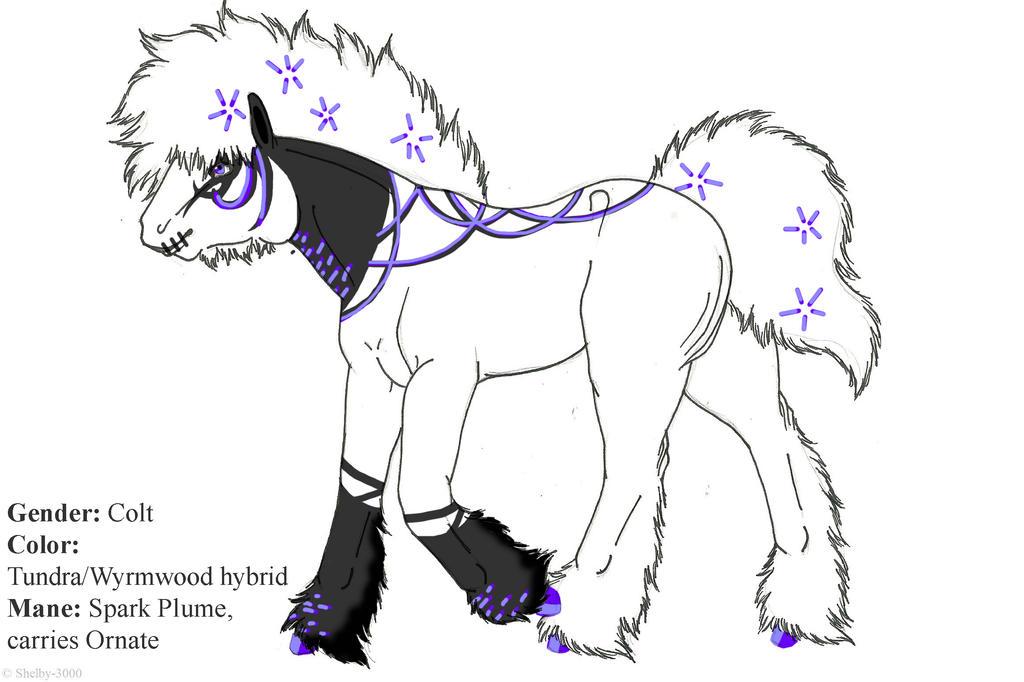 Foal Purple Love by Shelby-3000