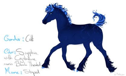Foal Pretty Lil' Jewels by Shelby-3000