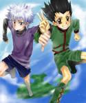 Killua and Gon 1