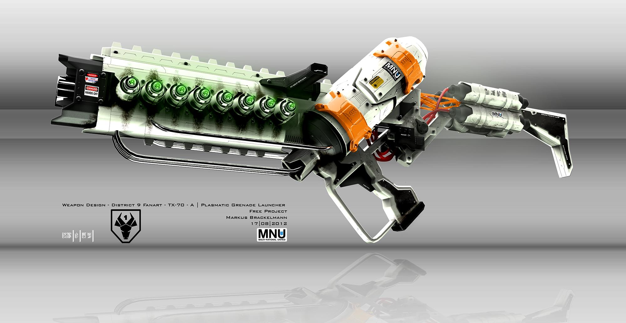 Concept Art of a District 9 Weapon by Braxxon on DeviantArt