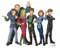 Blake's 7, Anime Style