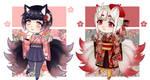 #41 ADOPTABLES [OPEN 1/2] + Kitsunemimi + by Star-Kaito