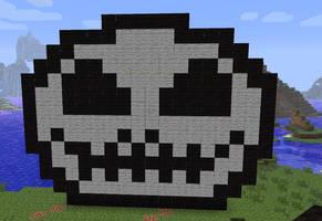 Skeleton Jack Minecraft art