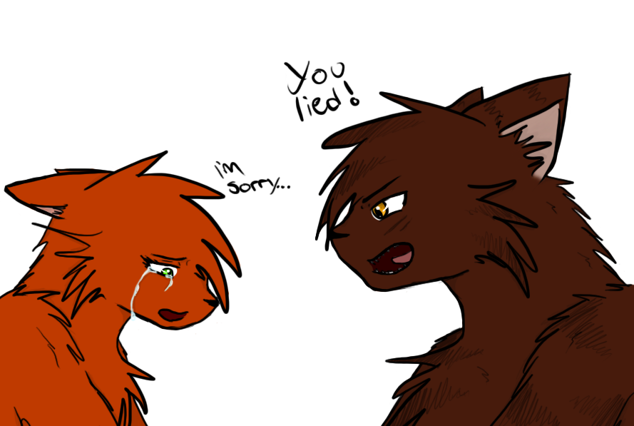 Squirrelflight And Brambleclaw By Crystlewhitewolf On