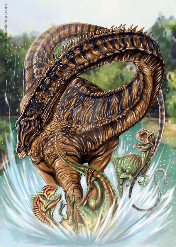 Diplodocus by In-Sine