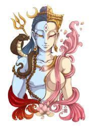 ardhanari shvara by In-Sine
