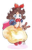 chibi Snow white by In-Sine