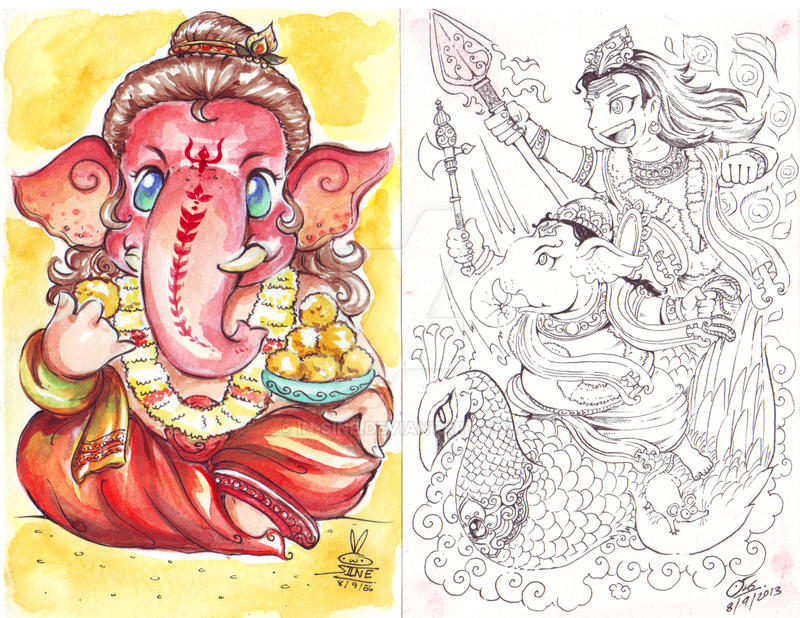 Ganesha chaturthi by in sine