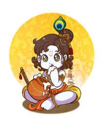 Little Krishna by In-Sine