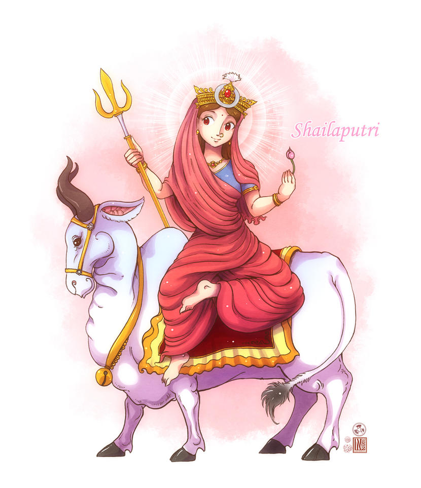 Shailaputri Mata By In Sine On Deviantart