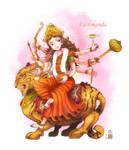 Kushmanda mata by In-Sine