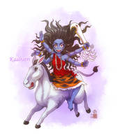 Kaalratri mata by In-Sine