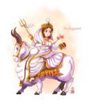 Maha Gauri mata by In-Sine