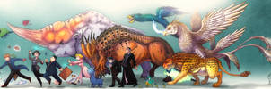 Fantastic Beasts FA by In-Sine