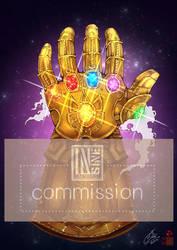 Infinity Gauntlet by In-Sine