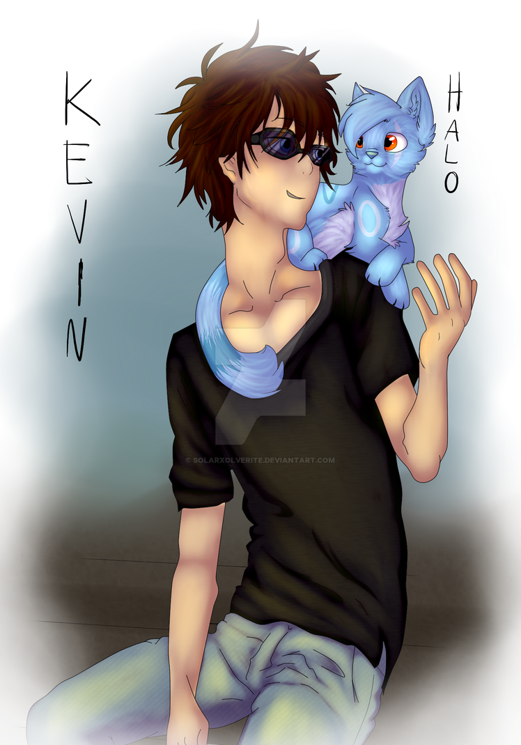 Kevin and Halo by SolarXolverite