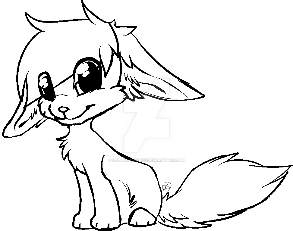 free Lineart by SolarXolverite