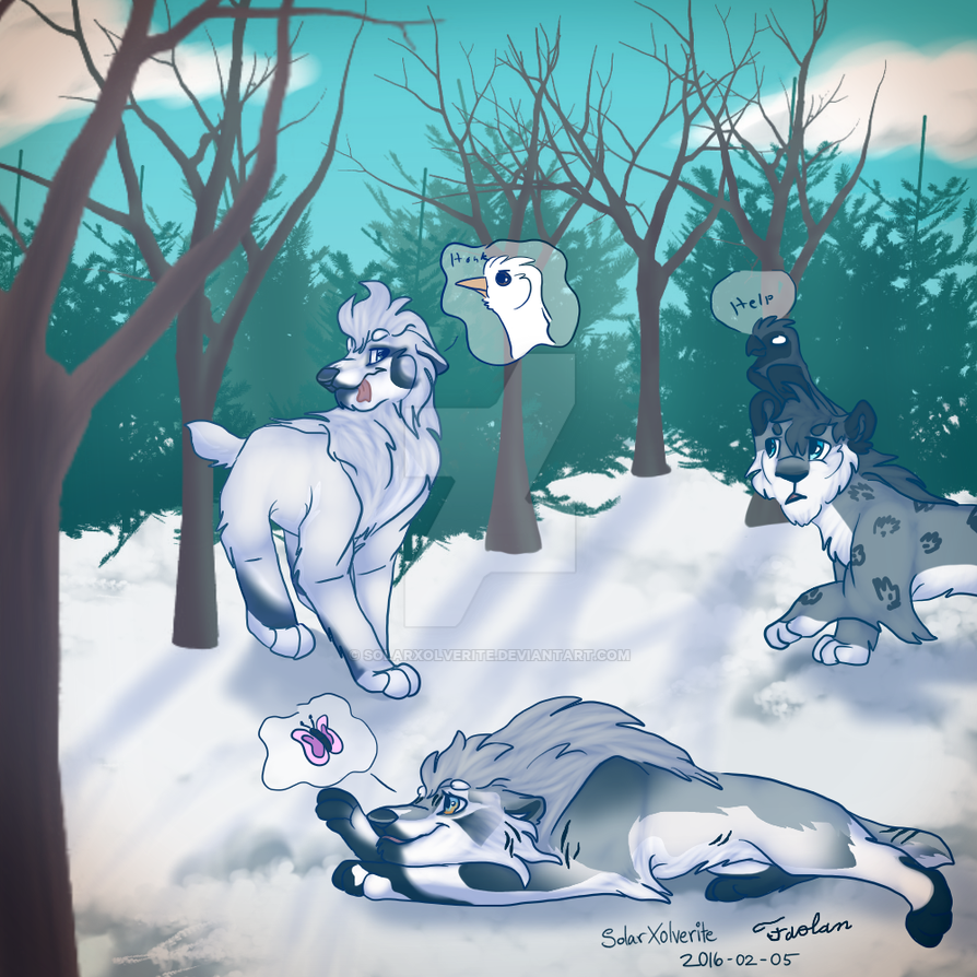 Weekly Quest Collab With Faolan9898 by SolarXolverite