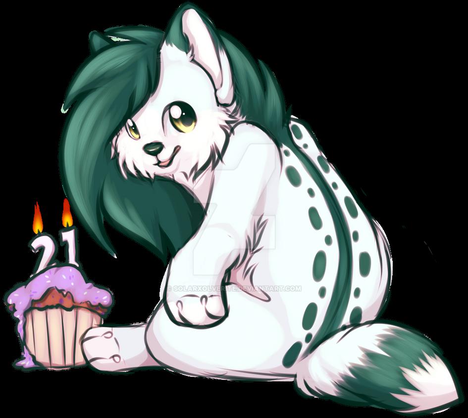 happy birthday to me XD by SolarXolverite