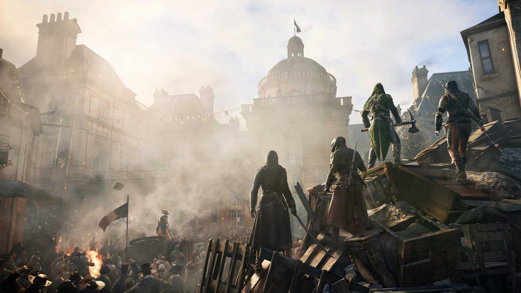 Assassins Creed Unity Concept Art by AssassinsCreedTroy