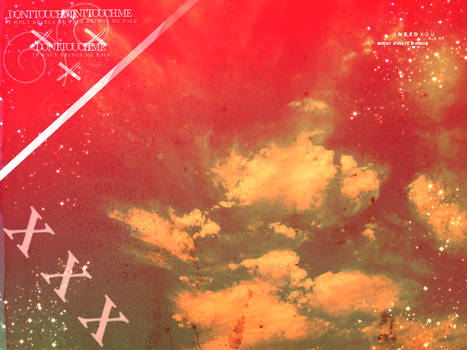 Red Clouds Texture