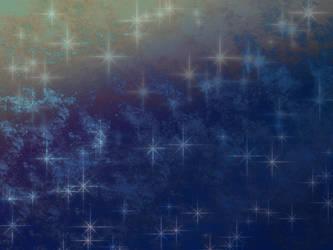Blue sparkles - stock texture by JRMB-Stock