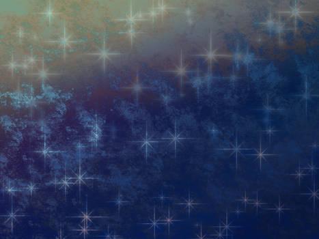 Blue sparkles - stock texture
