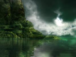 Algae Sea by LuchareStock