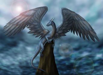 Collab: Saphira. by Raz-Zyrak