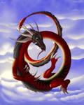 Collab: In the sky. by Raz-Zyrak