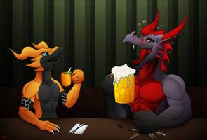 CM: Night at the bar.