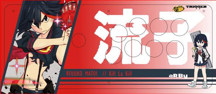 Ryuuko Matoi Stick Art (Madcatz Fightstick Pro)