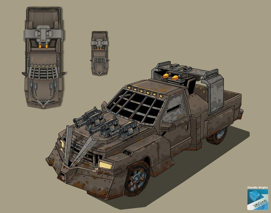 Car Wars: War CAR 2 By Claudiobitcube On DeviantArt