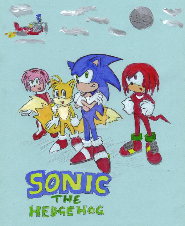 My Sonic Comic Project Cover by KedakaiOkami