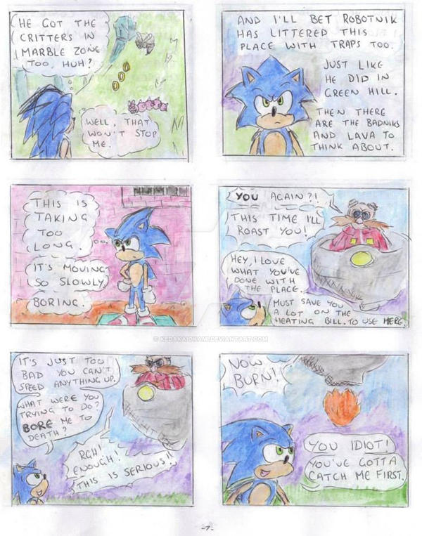 My Sonic Comic Project page 07 by KedakaiOkami