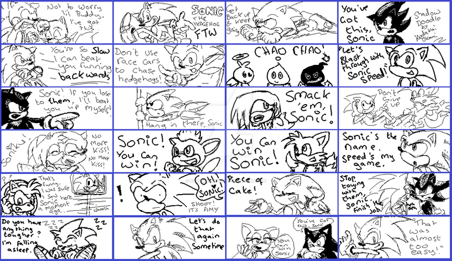 Support Sonic by KedakaiOkami